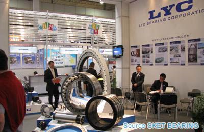 LYC Bearing Attends Bearing Industry Exhibition