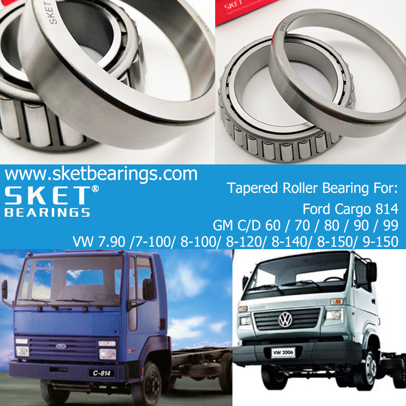 Ford Cargo/GMC/VOLKSWAGEN VW truck wheel bearing manufacturer in China