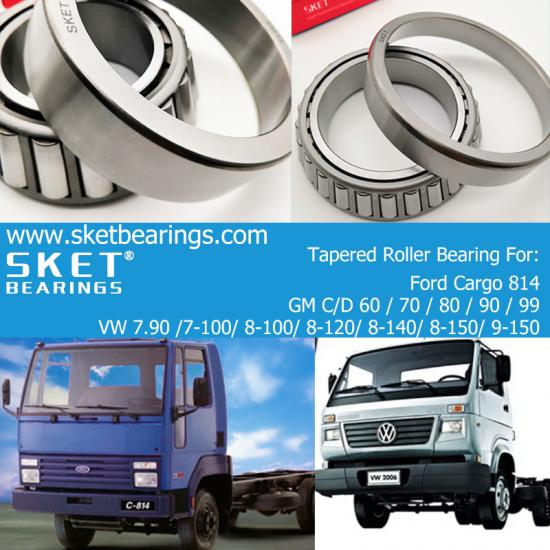 High Quality Truck Wheel Bearings manufacturer supplier from China